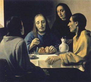 """Вермеер """"Христос в Эммаусе"""""""