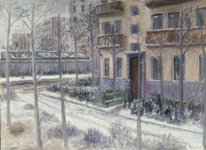Дом в военном городке. 1999