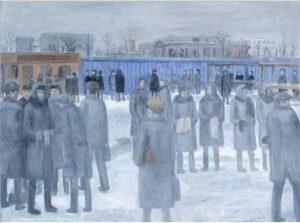 Открытый рынок зимой, 1999-2000