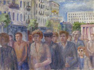 Пешеходная зона. 2000