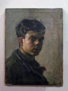 Михаил Рогинский. Автопортрет. 1947