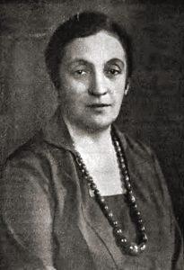 Александра, жена Пилсудского, в 1931 году