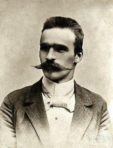 Юзеф Пилсудский в 1899 году