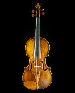 Скрипка работы братьев Амати, сделанная в 1608 году в Кремоне, Италия