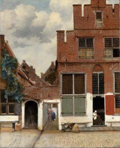 Улочка Делфта. 1658. Рейксмузеум, Амстердам