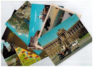 Полученные открытки