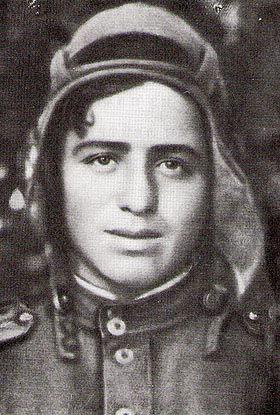 Гвардии лейтенант Ион Деген.1944 год