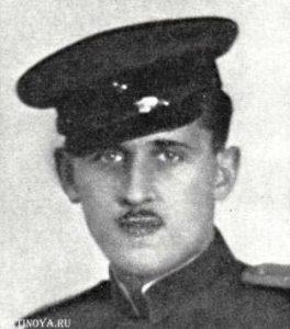 Александр Коренев, лейтенант. Декабрь 1944 г.