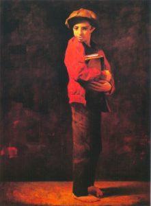 Еврейский мальчик. Одиночество