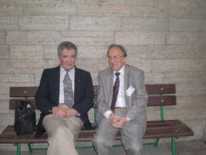 Варшалович и автор на конференции в г. Пушкин, 2008
