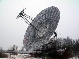 Большой Пулковский Радиотелескоп (современный вид)