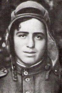 Гвардии лейтенант Ион Деген. 1944 год