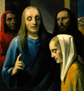 «Христос и грешница» Ханса ван Меегерена