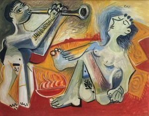 Де Хори. Подделка «под Пикассо»
