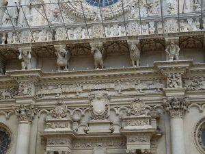 Лечче. Церковь Святого Креста