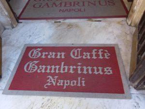 Неаполь. Вход в «Гамбринус»