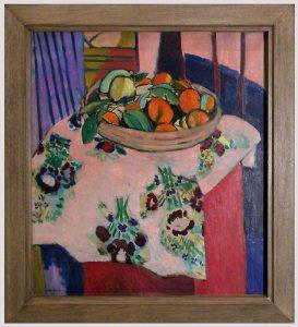 «Натюрморт с апельсинами» Матисса, 1912 г.; Музей Пикассо, Париж