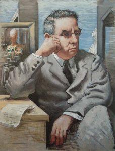 Альберт Барнс (1872-1951); портрет работы де Кирико; Фонд Барнса, Филадельфия