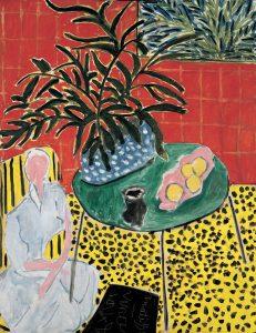 «Черный папоротник» Матисса, 1948 г. Частная коллекция