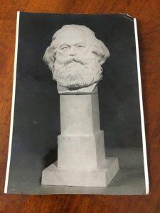 Бюст Карла Маркса работы Василия Кузнецова