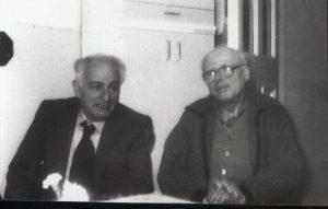 Л.В. Альтшулер и А.Д. Сахаров, Москва, 1987 г.