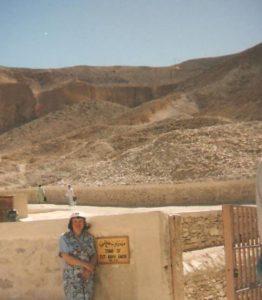 У входа в гробницу Тутанхамона