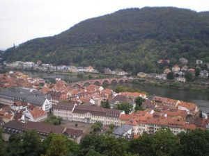 Гейдельберг, вид с университетского холма