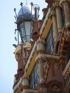Барселона. Дворец каталонской музыки