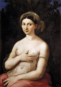 «Форнарина» Рафаэля, 1518–1519 г.; палаццо Барберини, Рим
