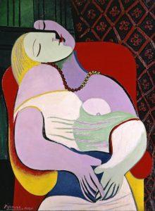 «Сон» Пикассо, 1932г.; частное собрание