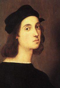 Рафаэль (1483–1520), автопортрет; Галерея Уффици, Флоренция, Италия