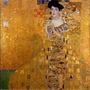 «Портрет Адели Блох-Бауэр I» Климта, 1907г.; Neue Galerie, Нью-Йорк