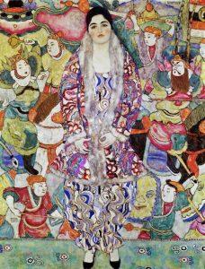«Портрет Фридерики Беер» Климта, 1916г.; Музей изобразительных искусств, Тель-Авив