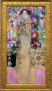 Незаконченный посмертный портрет Рии Мунк работы Климта («Портрет Рии Мунк III»), 1918г.; частное собрание
