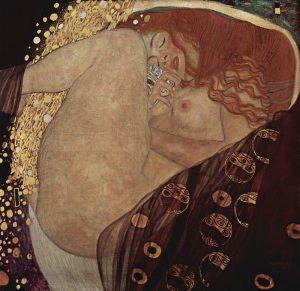 «Даная» Климта, 1907г.; частная коллекция, Вена