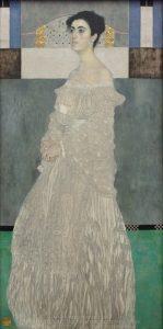 «Портрет Маргарет Стонборо-Витгенштейн» Климта, 1905г.; Новая пинакотека, Мюнхен