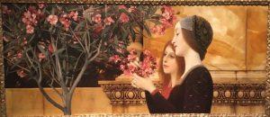 «Две девушки с олеандром», 1890‒1892г.; Художественный музей, Хартфорд, Коннектикут