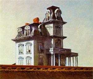 «Дом у железной дороги» Хоппера, 1925 г.; МОМА, Нью-Йорк