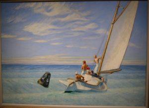 «Накат» Хоппера, 1939 г.; Национальная галерея, Вашингтон
