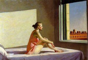 «Утреннее солнце» Хоппера, 1952 г.; Художественный музей, Колумбус, Огайо