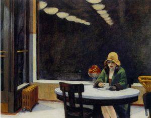 «Автомат» Хоппера, 1927 г.; Центр искусств, Де-Мойн, Айова
