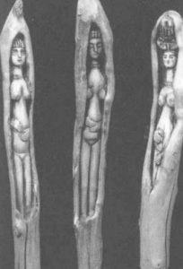 Дриады. Дерево, олифа, лак, масло, темпера. 1950–1970-е гг.