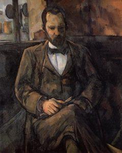 «Портрет Амбруаза Воллара» Сезанна, 1899 г.; музей Пти-пале, Париж