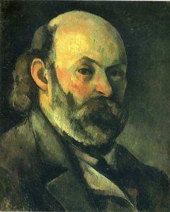Поль Сезанн (1839-1906), автопортрет 1883 г.; Музей изобразительных искусств им. Пушкина, Москва