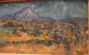«Гора Святой Виктории», Сезанна, 1902-1906 г.; Музей Метрополитен, Нью-Йорк