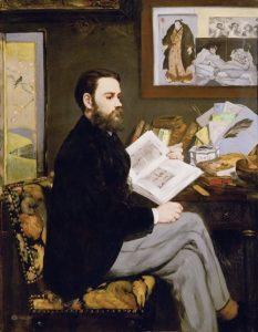 «Портрет Эмиля Золя» Эдуарда Мане, 1868 г.; Музей д'Орсэ, Париж