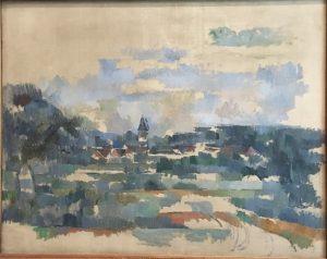 «Поворот дороги» Сезанна, 1905 г.; галерея Курто, Лондон