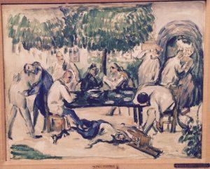 «Пьяницы» Сезанна, 1876-1877 г.; Музей изобразительных искусств, Тель-Авив