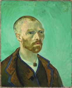 «Автопортрет» Ван Гога, 1888 г.; Гарвардский музей, Кембридж, Массачусетс