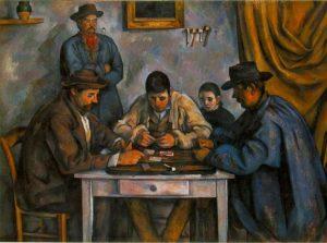 «Игроки в карты» Сезанна, 1890-1892 г.; Фонд Барнса, Филадельфия
